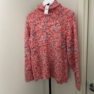 Lou & Grey Marled Turtleneck Sweater